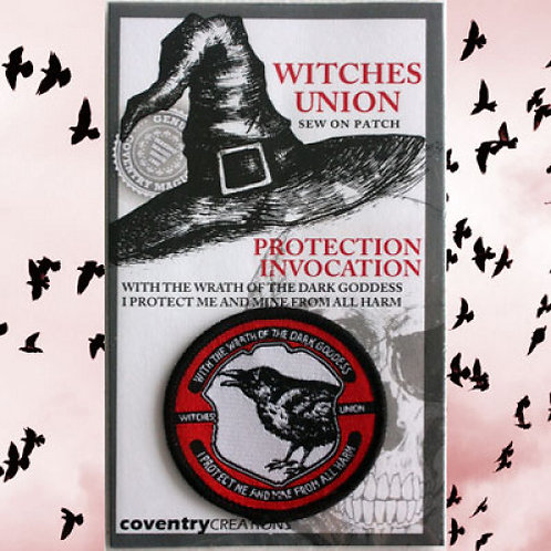 Witches Union Protection Invocation Patch