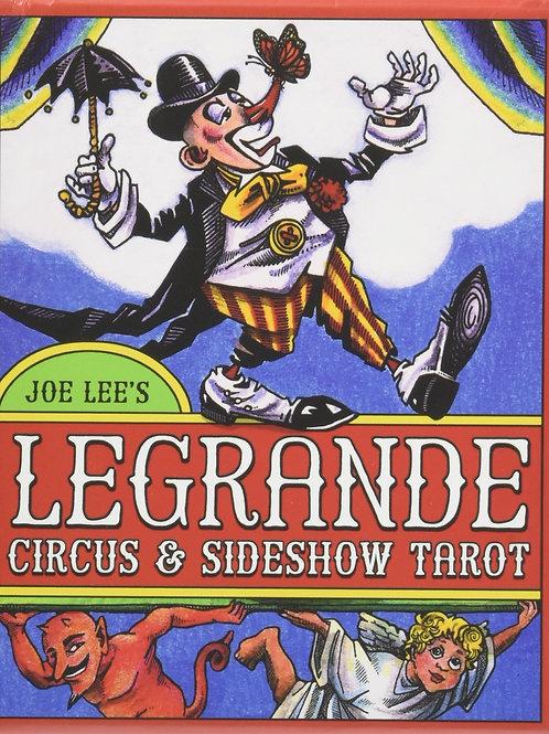 LEGRANDE Circus & Sideshow Tarot Deck