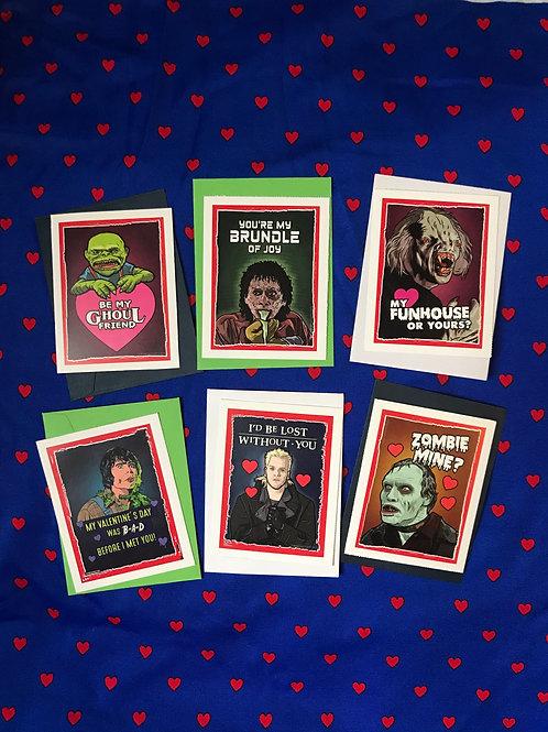 Horror Movie Valentines by Matthew Lineham