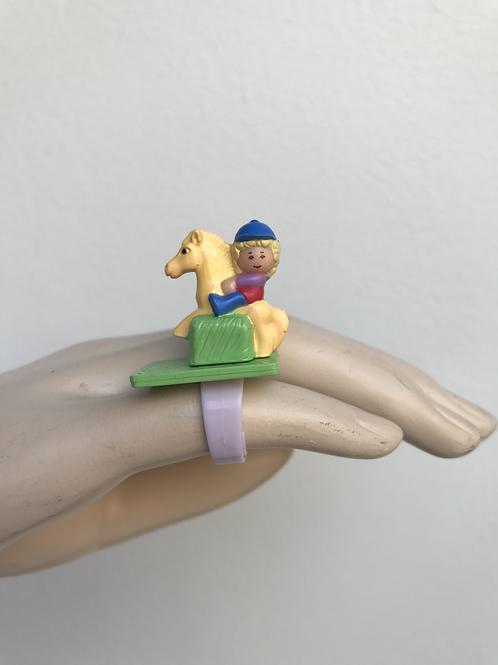 🐴 Vintage 90s Polly Pocket Ring 💕