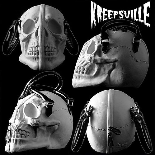 Kreepsville Latex Skull Purse