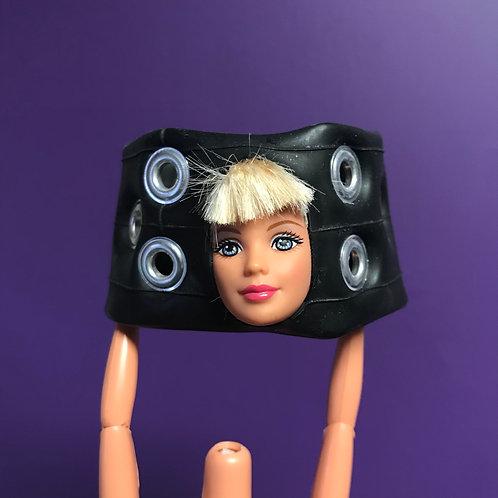 Handmade Upcycled Barbie Cuff Bracelet