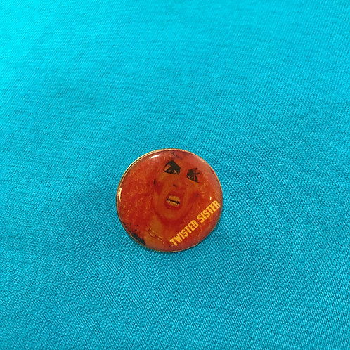 Vintage Twisted Sister Dee Snider Pin