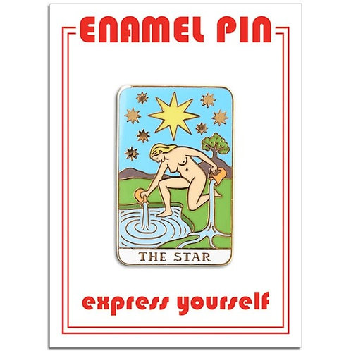 The Star Tarot Pin