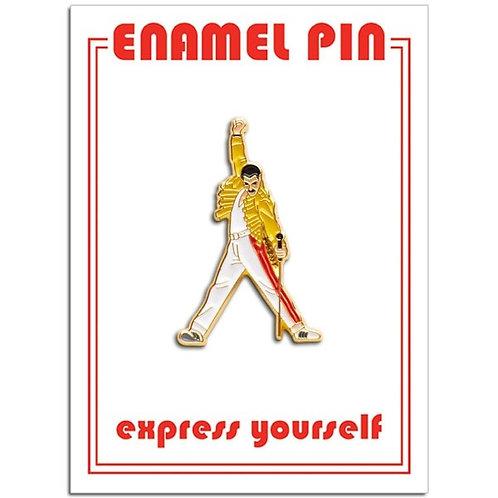 Freddie Mercury Icon Pin