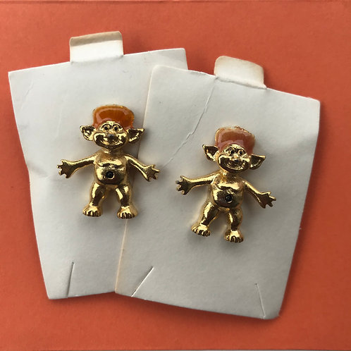 🧡 Vintage Troll Doll Enamel Pin 🧡