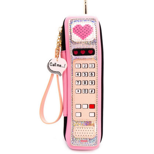 90s Cell Phone Clutch
