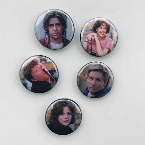 Breakfast Club Pin Set