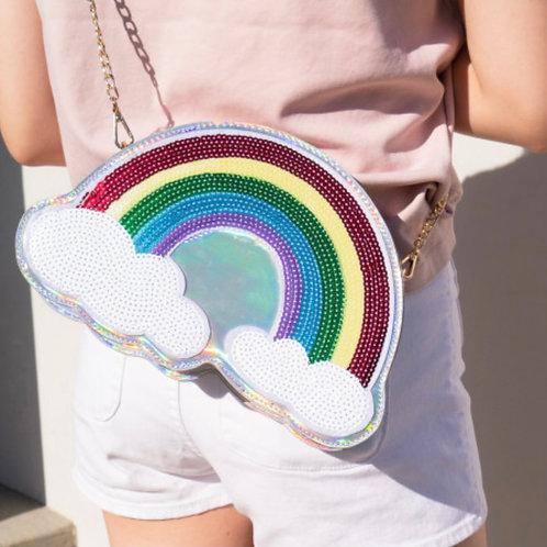Sequin Rainbow Bag
