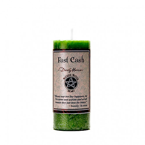 Wicked Witch Mojo Fast Cash Candle
