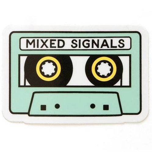 Mixed Signals Sticker