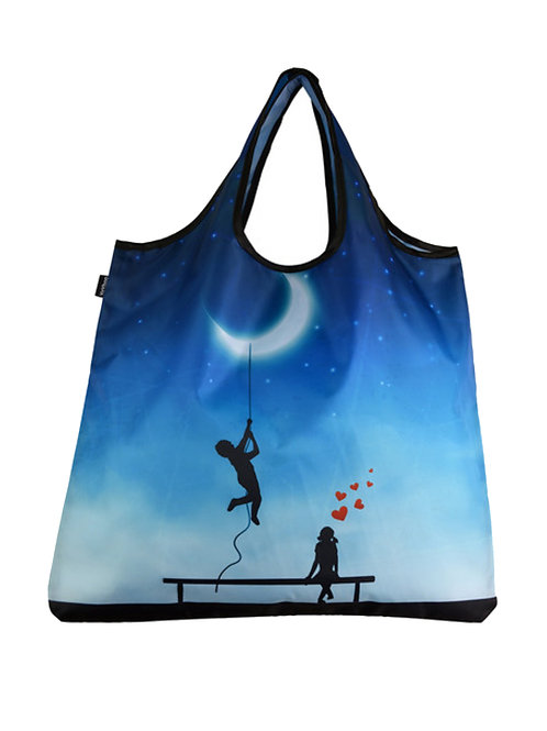 I'd Give You the Moon Reusable Shopping Bag