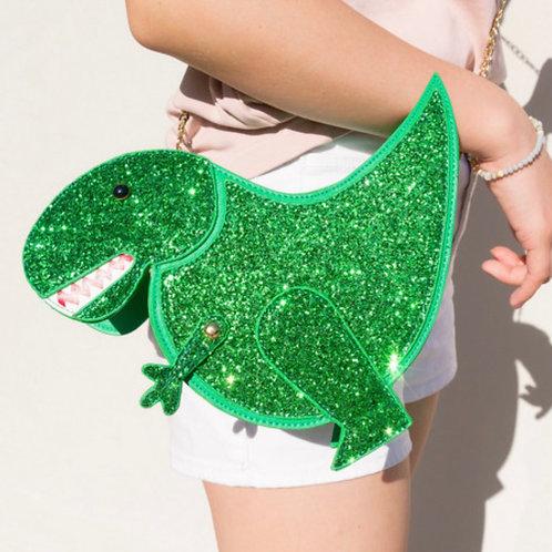 Glitter Dino Bag