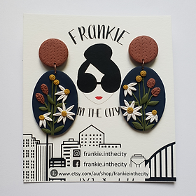 Paradiso Statement Earrings - Francesca