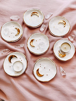 Luna Tea Light Holders - Anastasia Tsika