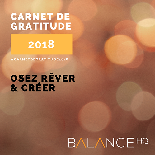 Carnet de Gratitude 1, 2 & 3