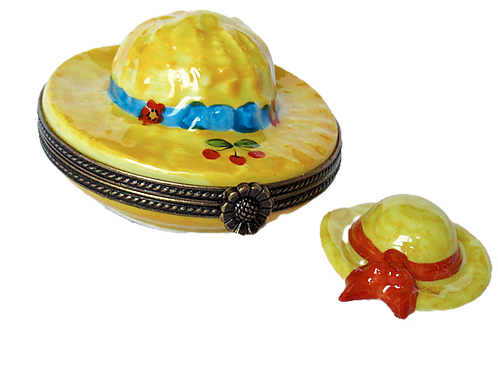 COQUETTE LIMOGES HAT BOX