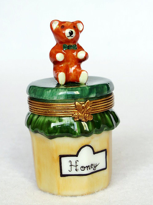 limoges honey jar box