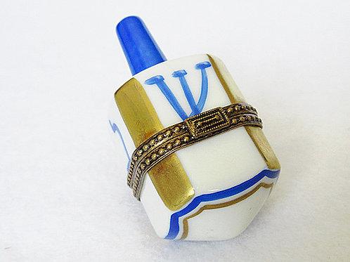 Limoges porcelain Dreidel