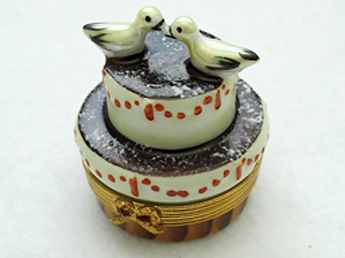 Limoges  chocolate cake box