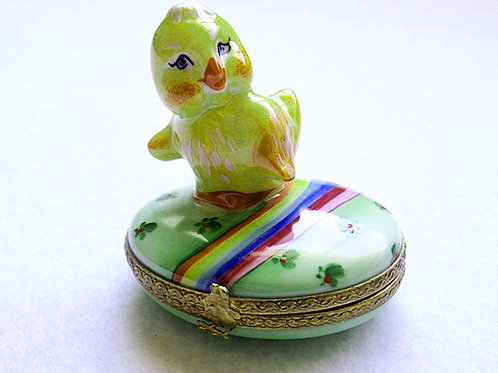 Limoges hand painted Easter box