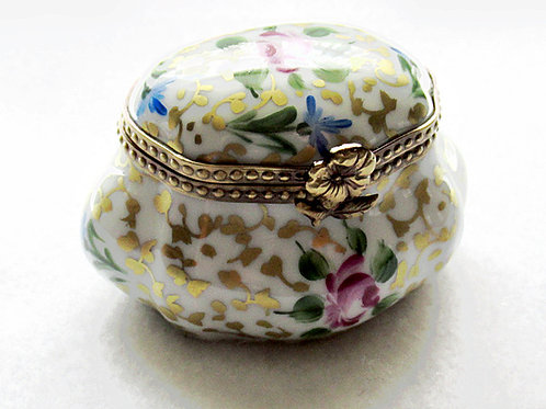 Collectible Limoges porcelain box