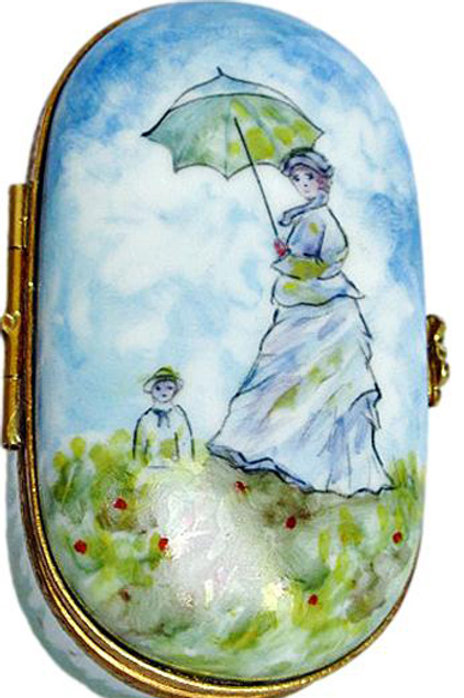"""MONET """"MADAME MONET AND SON"""" LIMOGES"""