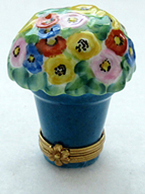 Limoges potted  flowers box