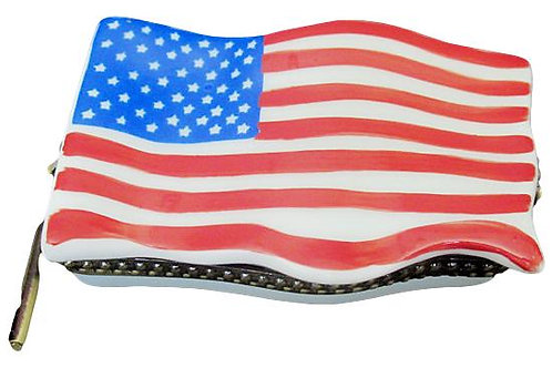 OLD GLORY LIMOGES BOX