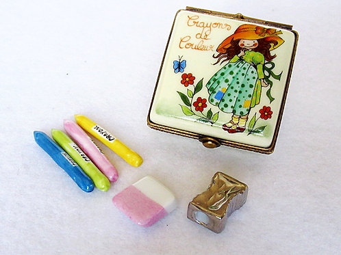 Limoges coloring pencils box