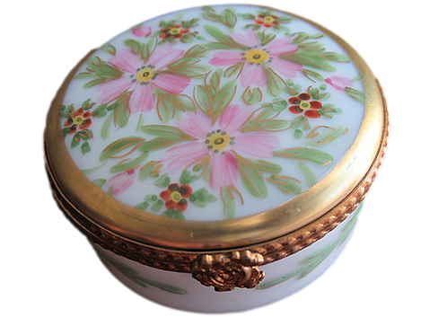 MARGUERITE LIMOGES COLLECTIBLE BOX