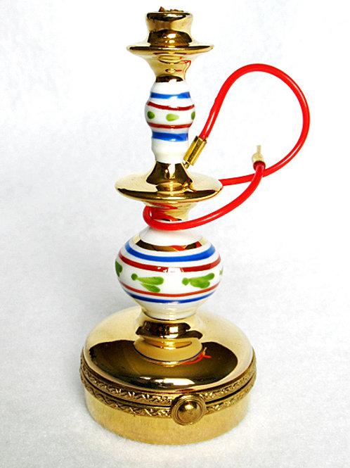 Limoges miniature Hookah pipe