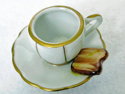 Limoges tea and toast box
