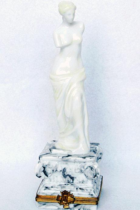 Limoges porcelain Venus' statue