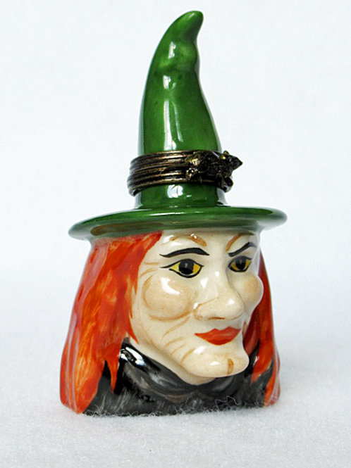 WITCH LIMOGES BOX