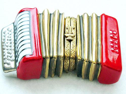 Limoges porcelain accordion box