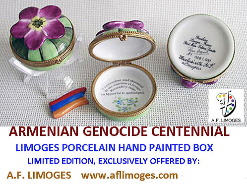 Armenian Genocide Limoges box