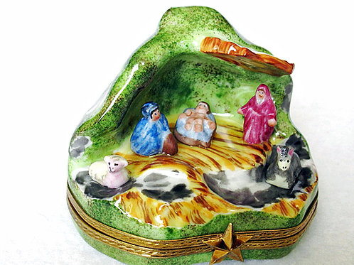 Nativity Limoges box