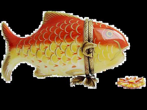 KOI FISH LIMOGES BOX