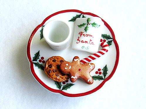 Santa's Cookies Limoges