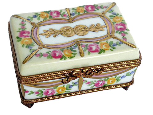 IMPERATRICE LIMOGES RING BOX