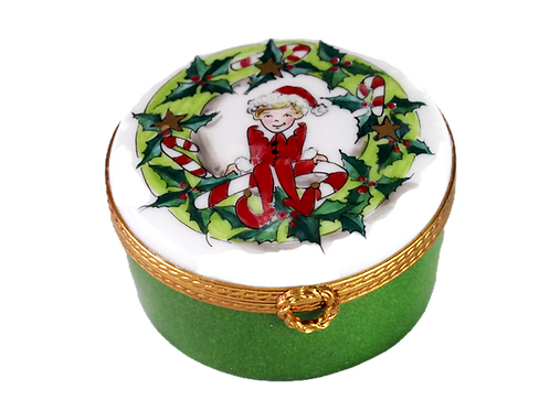 CHRISTMAS  ELF LIMOGES