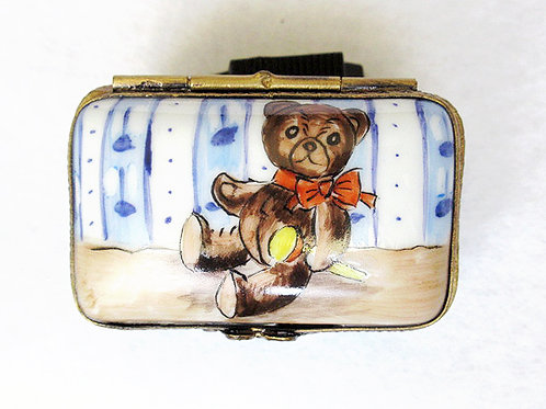 Teddy bear  Limoges box