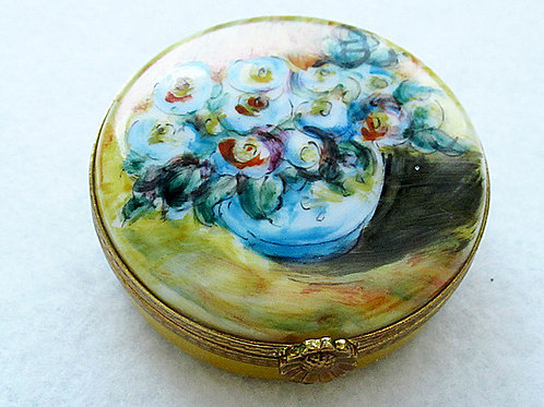 Monet hand painted Limoges box