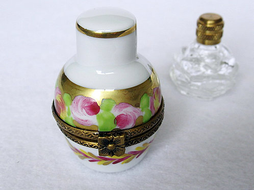 LIMOGES PERFUME BOTTLE BOX