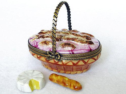 limoges bread basket box