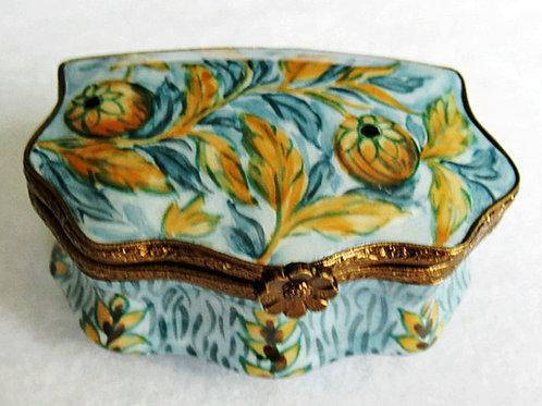 Van Gogh, Floral design Limoges box