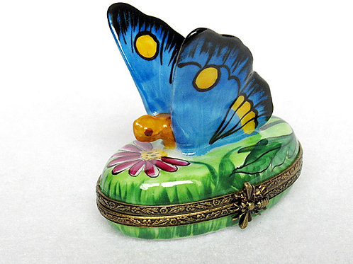 Limoges hand painted butterfly