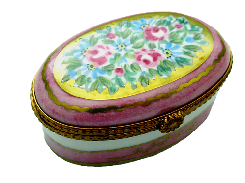 VALERIE LIMOGES COLLECTIBLE BOX