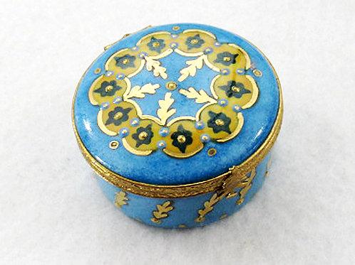 Limoges Christmas porcelaine box